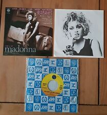 "Madonna - Love Don't Live Here Anymore rare Japan only 1984 7"" single."