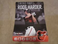 Trey Mancini 2019 MASN Cable Network 19x27 Baltimore Orioles Poster