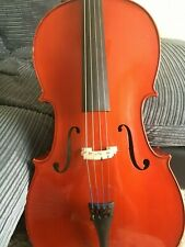More details for full size cello 4/4 with case and bow