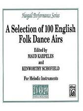 A Selection of 100 English Folk Dance Airs: Part(s) (Hargail Performance Series)