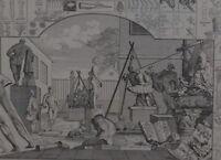 C1840 Hogarth Estampado ~ Análisis De Belleza Placa 1