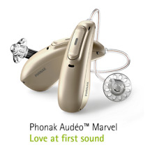 New Phonak Audeo Marvel 90/70/50/30 RIC 312 Hearing Aid with Bluetooth