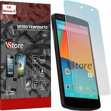 """2 Film Glass Tempered For Lg Nexus 5 D820 D821 Save LCD Display 4,95"""""""