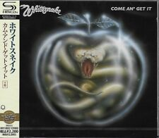 WHITESNAKE COME AN' GET IT JAPAN 2011 SHM REMASTERED CD +6 - GIFT QUALITY - OOP!