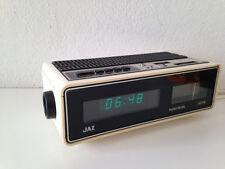 Superbe RADIO - RÉVEIL - HORLOGE  JAZ   vintage An 70's