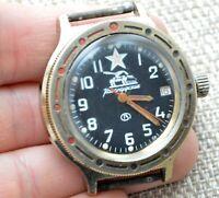 Watch USSR Vostok Komandirskie Automatic Mechanical Soviet Russian Wostok Rare