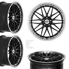4x 18 Zoll Alufelgen für Opel Corsa D, Corsa E / Dotz Revvo dark (B-BR04131)