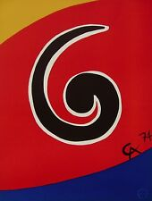 Sky Swirl (Flying Colors), 1974 Limited Edition Lithograph, Alexander Calder