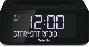 TechniSat DigitRadio 52 anthrazit, Radiowecker, Digitalradio, DAB, DAB+, UKW (FM