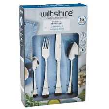 Wiltshire Baguette 16 Piece Cutlery Set By Spotlight