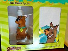 Rare Scooby Doo Hand Towel & Soap Dispenser Bathroom set NIB vintage 2001 freesp
