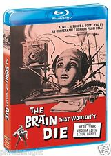 THE BRAIN THAT WOULDN'T DIE BLU-RAY - HORROR - SCREAM FACTORY
