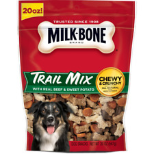 Milk-Bone Trail Mix With Real Beef & Sweet Potato Dog Treats 20oz