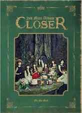 """K-POP OH MY GIRL 2TH MINI ALBUM """"CLOSER """" [ PHOTO BOOK + CD ]"""