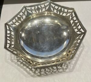 Lonsdale Silver Plated Candy Dish English Poston Products  Vintage Rare
