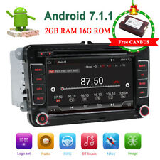 VW Car Stereo Radio Android 7.1 Navi GPS USB MP3 AUX VW Golf Passat Tiguan SEAT