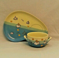 Soup and Sandwich set Plate and Bowl