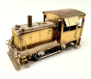 Brass industrial diesel switcher Westside DRGW standard gauge HO DC Critter