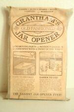 Vintage Grantham's Old Fashioned Jar Opener Nip