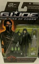 GI JOE THE RISE OF COBRA 2 FIGURE LOT...SNAKE EYES NINJA COMMANDO & REX LEWIS