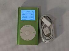Apple iPod Mini 1st Gen A1051 P9806LL Green 4 GB Working 350+ Songs