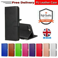 Flip Wallet Leather Magnetic Book Case Cover for iPhone 5 6 7 8 XR SE-2020