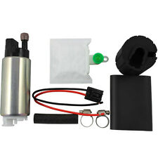 New 255LPH High Pressure & High Flow Fuel Pump With Install Kit GSS342