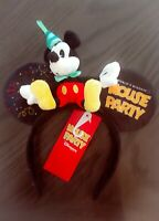 Disneyland Paris Mickey Mouse Party Ears Headband