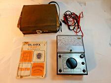 Hioki Electric Multimeter Tester Model OL-64TX, Manual, Probes Western Union