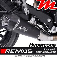 Silencieux Remus Hypercone inox noir avec cat Ducati Scrambler Sixty2 - 2017