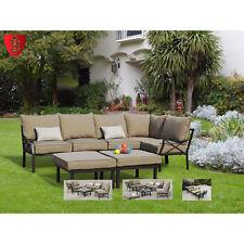 Outdoor Sofa Set 7 Piece Sectional Furniture Patio Garden Lounge Deck Seats 5