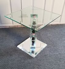 Mid Century Style, 80's Lucite Table, Pop Art Coca Cola Bottles UNIQUE STYLE