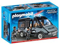 Playmobil City Action 6043 Police Van with Lights and Sound