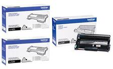 GENUINE BROTHER DR420 DRUM & (2) TN420 TONER VALUE PACK