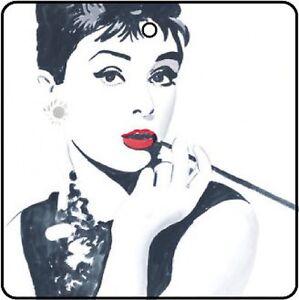 Audrey Hepburn Car Air Freshener
