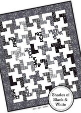 Shades Of Black Quilt Kit - Includes Pattern Plus Moda Fabric