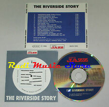 CD THE RIVERSIDE STORY  bill evans thelonious monk chet baker lp mc dvd vhs