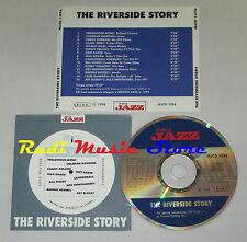 CD THE RIVERSIDE STORY  bill evans thelonious monk chet baker lp mc dvd vhs