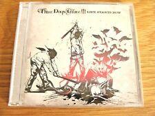 CD Album: Three Days Grace : Life Starts Now : Sealed