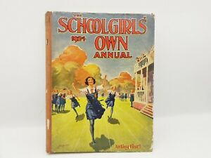 Antique Girls Annual- The Schoolgirl 's Own Annual- Years 1924, Hardback