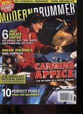 MODERN DRUMMER MAGAZINE - April 2007