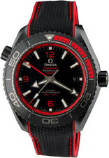 215.92.46.22.01.003 | NEW OMEGA SEAMASTER PLANET OCEAN RED & BLACK MEN'S WATCH