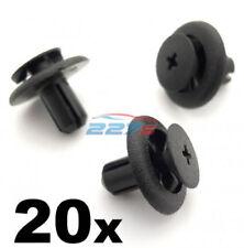20x 7mm Plastik Rand Klemmen für Subaru Radlauf Futter & Motor BAY Abdeckungen