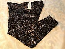 CALVIN KLEIN PERFORMANCE Cotton/Spandx~CROPPED PANT/CAPRIS ~Size 0X~PF5X7943~NWT