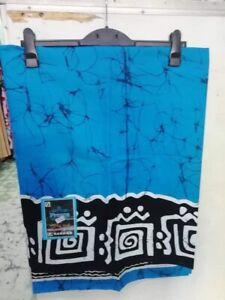Men's Large batik Beach Sarong Lungi Dhoti 100% Cotton Pool Cover up, Nightwear