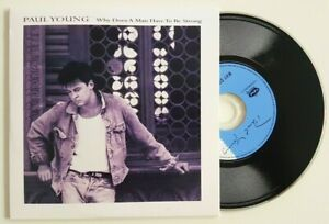 """PAUL YOUNG 1986 : WHY DOES A MAN... (12"""" EXTENDED MIX) ♦ Limited Ed. CD ♦"""