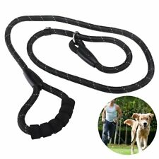 Reflective Durable Dog Slip Rope Leash Training Leash Rope Lead for Dogs 6 feet