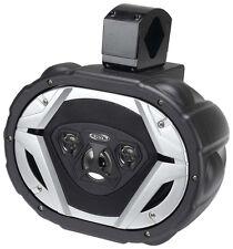 "Boss Audio MRWT69 6X9"" 4-Way Wake Tower Speaker Black. Sold Each"