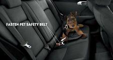 105948 Ajustable Asiento de Coche Arnés Perro Cinturón Seguridad Adaptador