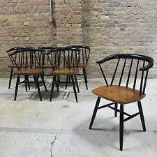 1 Tapiovaara Fanett Stuhl Teak Asko Danish Design 60er Midcentury